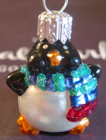 Blown Glass - Li'l Roly-Poly Penguin - 2000