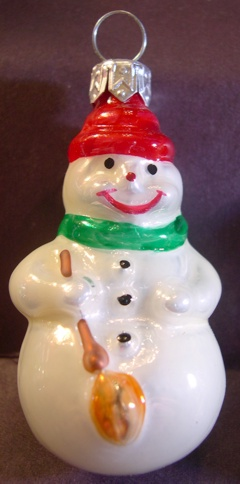 Blown Glass - Li'l Snowman Traditional - 2000