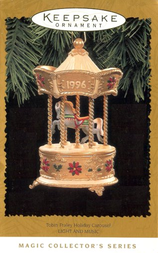 Tobin Fraley Holiday Carousel - 3rd & Final - Light and Music - 1996