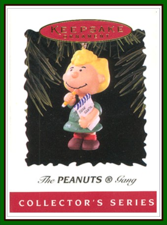 The Peanuts Gang - 4th  Final - Sally Making her List - 1996