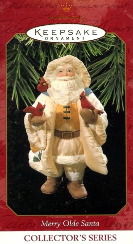 Merry Olde Santa - 8th - Holding Cardinals - 1997