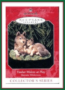 Majestic Wilderness - 2nd - Timber Wolves at Play -1998