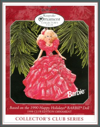 Barbie - Happy Holiday - 3rd in Collector�s Club Series - KOCC - 1998