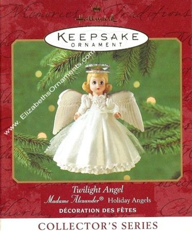 Madame Alexander Holiday Angels - 3rd & Final - Twilight Angel - 2000